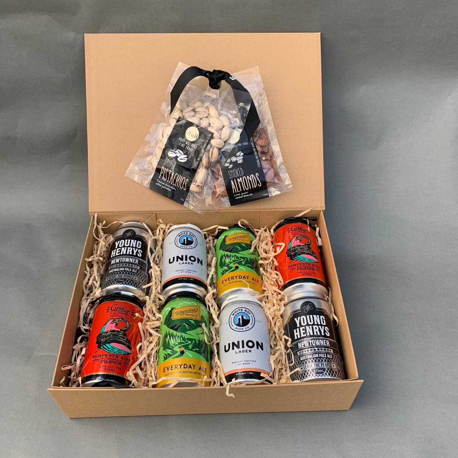 Beer and Nuts Gift Box