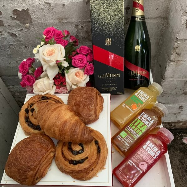 GH Mumm Continental Pastries Breakfast