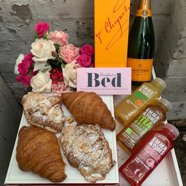 Veuve French Croissants and Chocolate Breakfast