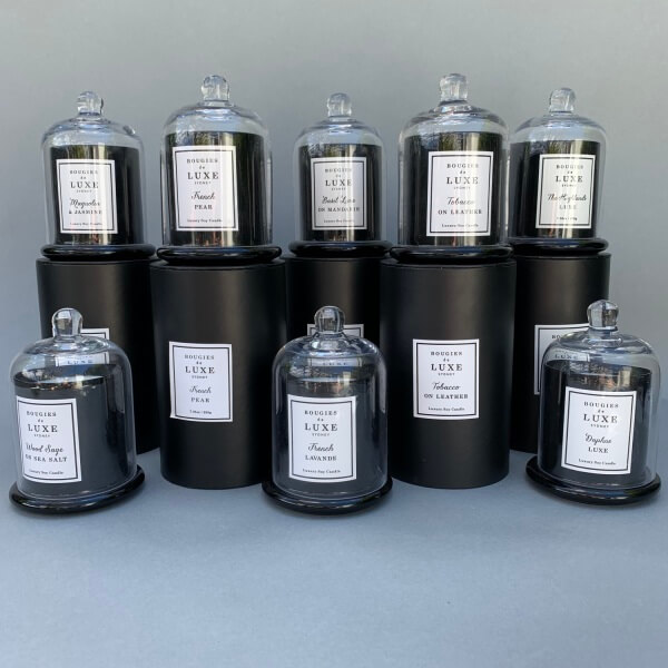 Bougies de Luxe Cloche Candle