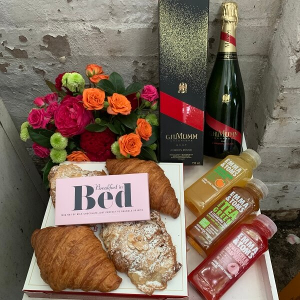 GH Mumm French Croissants and Chocolate Breakfast
