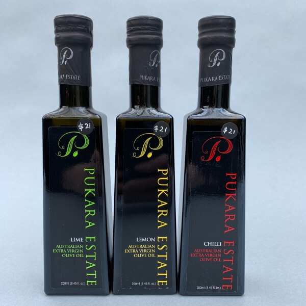 Pukara Estate Flavoured Olive Oil