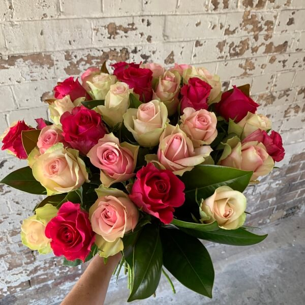 Rose Trio Bouquet