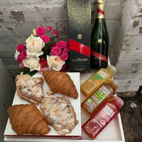 GH Mumm French Croissants Breakfast